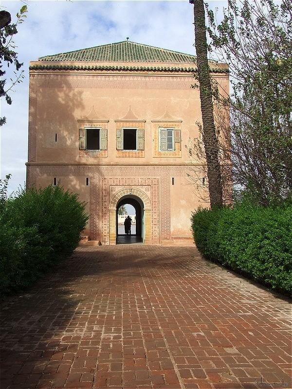 Marrakech, le Palais de la Ménara