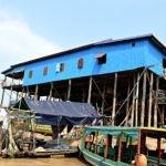 Tonle Sap - Floating House