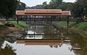 Siem Reap - Old Market Bridge - Day