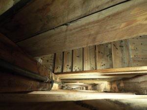 Wieliczka Salt Mine, stairs