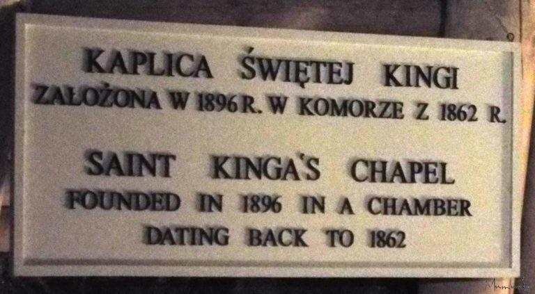 Wieliczka Salt Mine, St Kingas Chapel