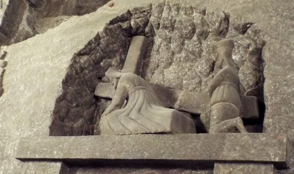 Wieliczka Salt Mine, chemin de croix