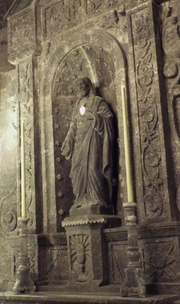 Wieliczka Salt Mine, statue