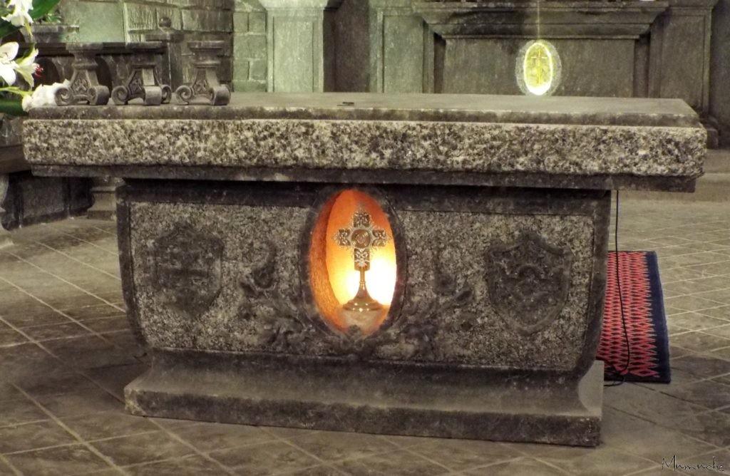 Wieliczka Salt Mine, autel