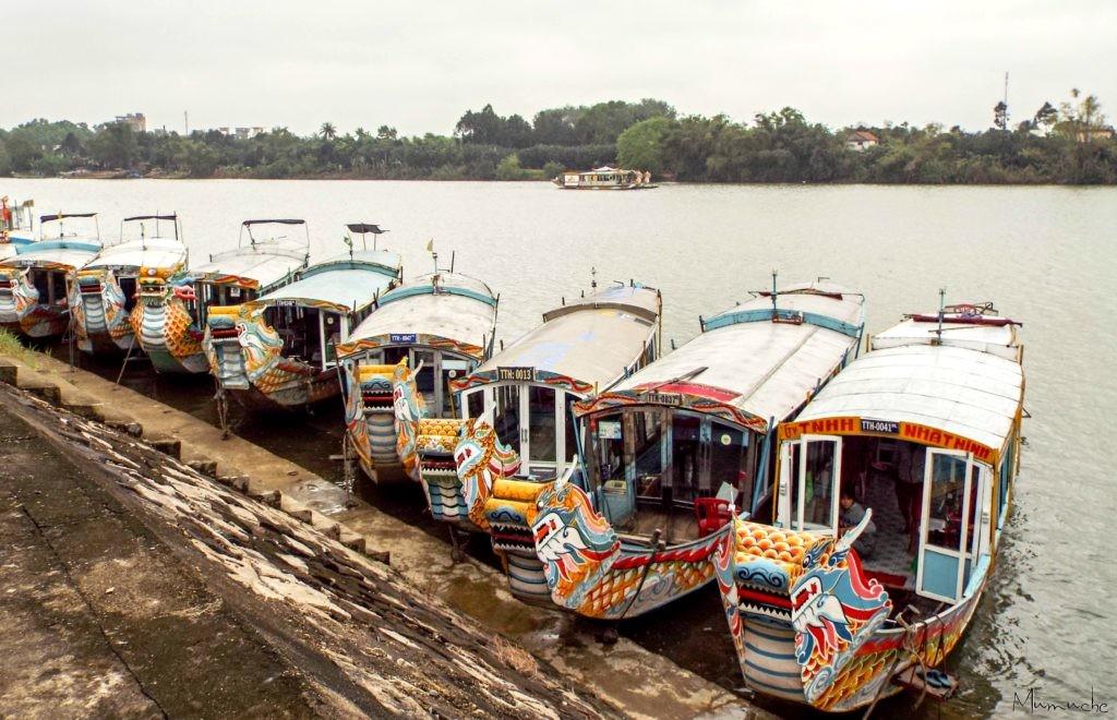 Vietnam - Perfume river - Boats