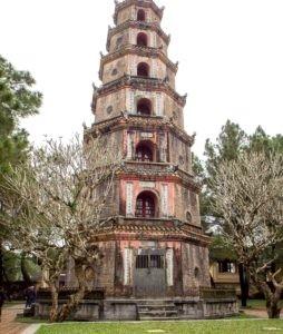 Vietnam - Thien Mu Pagoda = Pagoda