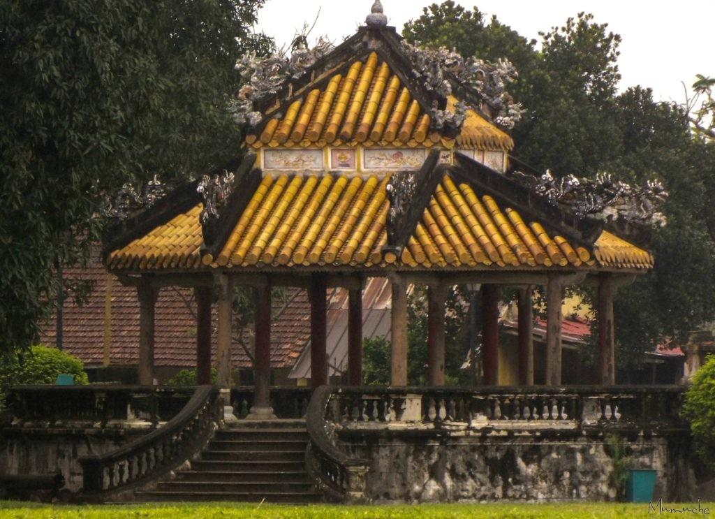 Vietnam - Hue - Yellow Roof