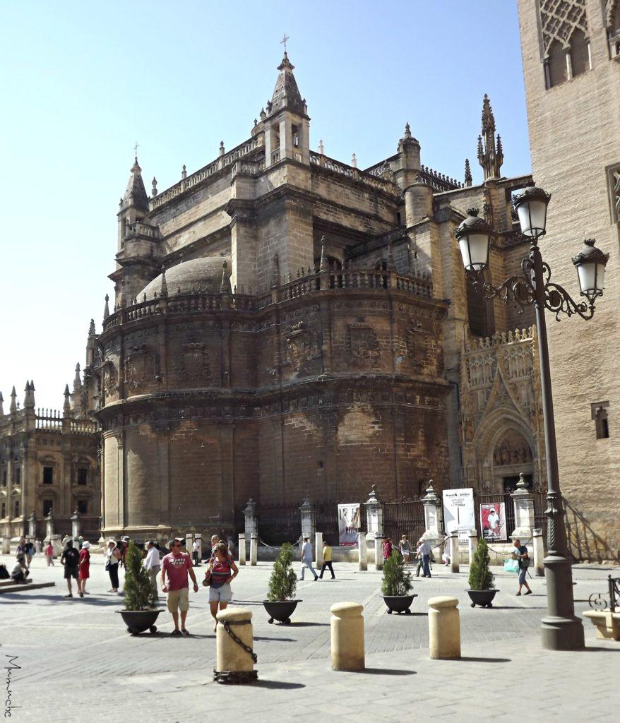 Seville - Cathedral back