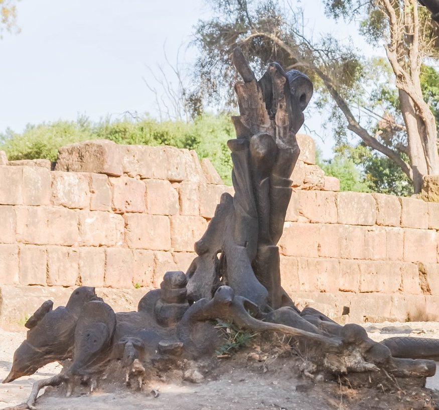 Tipaza - Sculpture