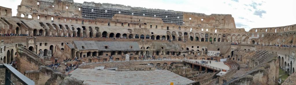 Colloseum, Panorama 2, Rome