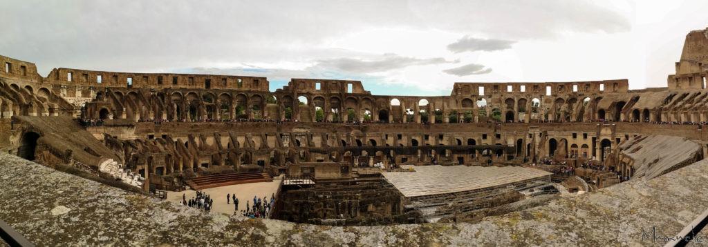Colloseum, Panorama, Rome