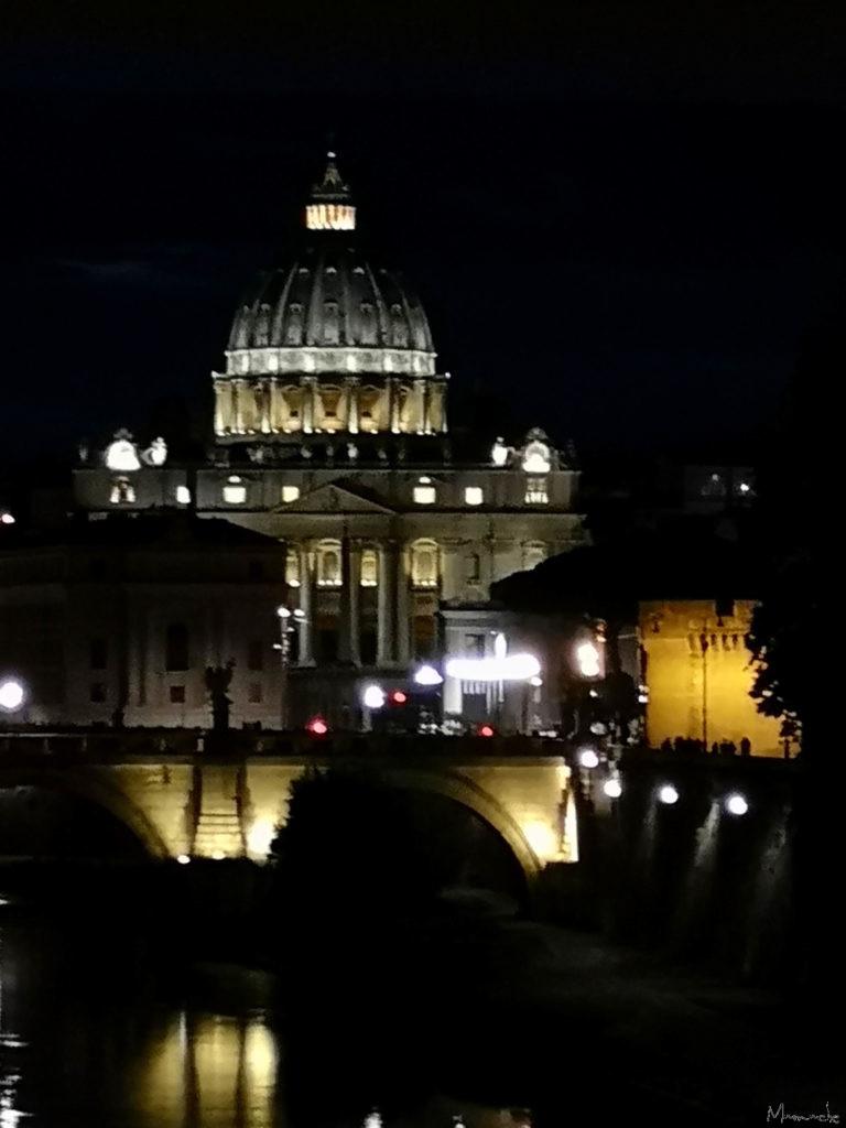 The Vatican, night, Rome