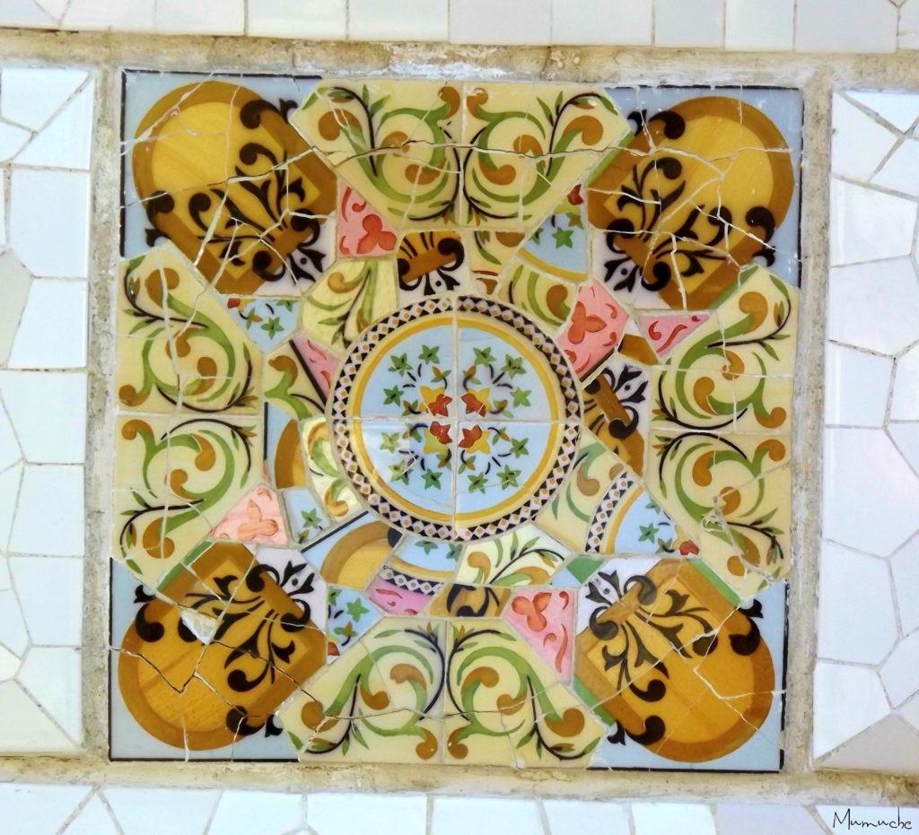 Park Gaudi, Barcelona, Mosaic 2