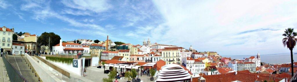 Lisbon, Miradouro das Portas do Sol 3
